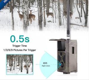 La tendance des caméras de chasse.